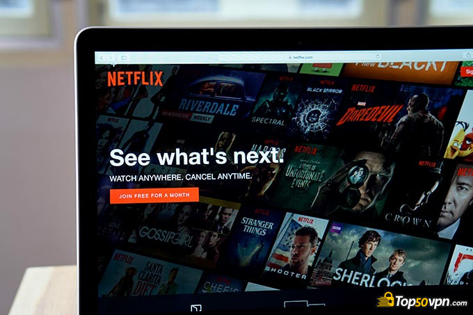 Invisible Browsing VPN: Netflix.